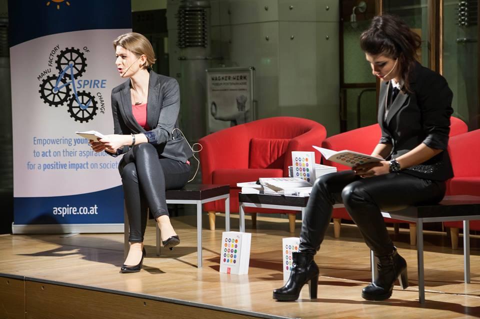 Keynote mit Katharina Moser, ASPIRE Konferenz