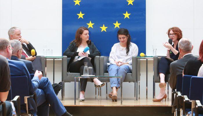 Panel, Haus der EU - Wien